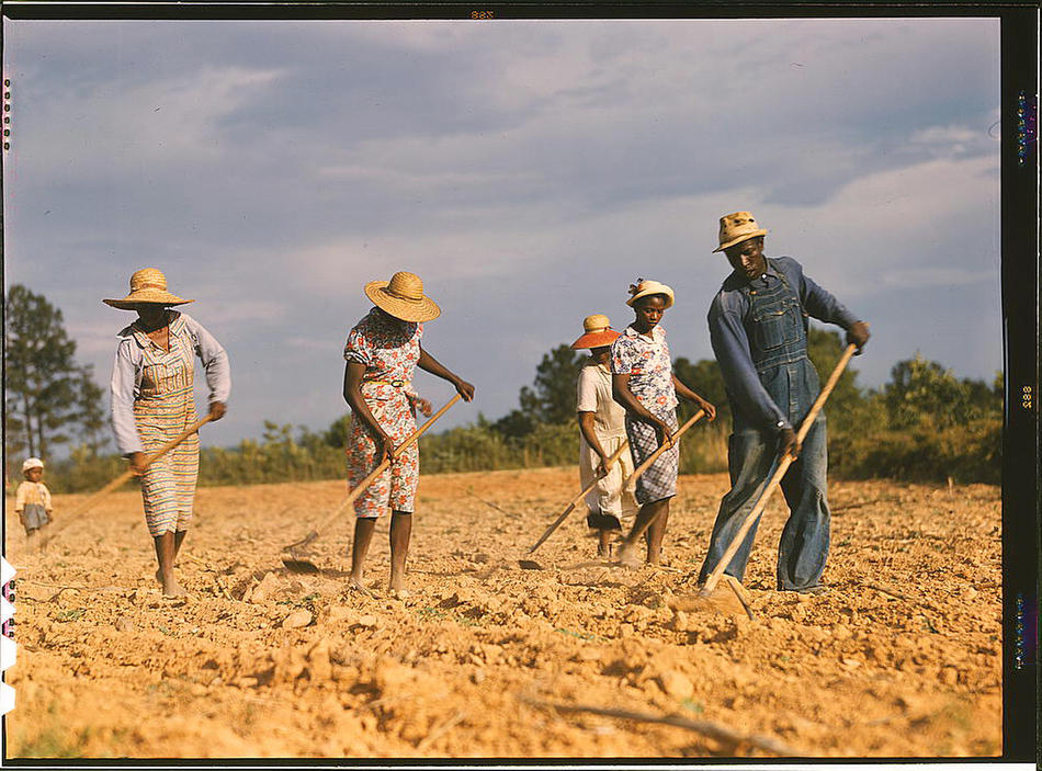 Dust Bowl Era Photos in Color Glory! (1/6)