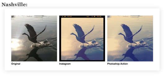 Free Instagram Actions for Photoshop! - Thanks Daniel Box